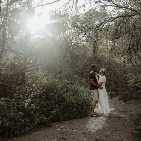 Couple session in the wood, Ibiza